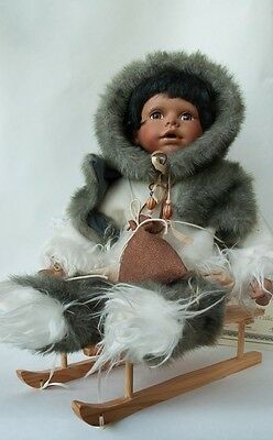 Seymour Mann Porcelain Doll with Slid