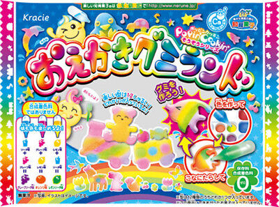 KRACIE POPIN COOKIN GUMMY LAND KIT. DIY Japanese candy. Happy Kitchen. Poppin