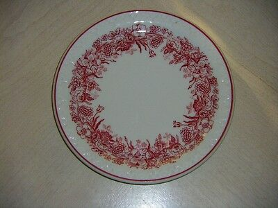 Vintage 30s-40s Shenango China New Castle, PA Avon Red Plate 6 1/2""