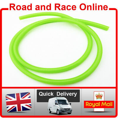 Motorcycle Fuel Line Petrol Pipe 5mm I/D x 8mm O/D 1m Length Green Fuel Hose