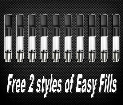5 pack 1ml vaporizer cartridge fits Open vape Bud T Bhang v stick 510 thread pen