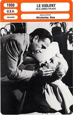FICHE CINEMA : LE VIOLENT - Bogart,Grahame,Ray 1950 In A Lonely Place