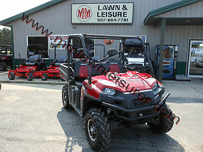 2012 Polaris Ranger XP® 800 Sunset Red LE New Tires, Nice Overall Condition.