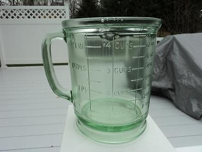 TUFGLAS LIGHT GREEN MEASURING PITCHER CUP