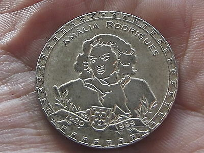 Amália Rodrigues - copper-niquel medal - Portugal