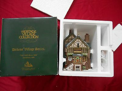 Dept 56 Dickens Village Series Heritage Village Collection The Pied Bull Inn