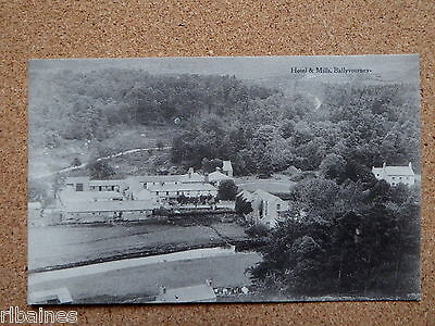 R&L Postcard: Hotel & Mills Ballyvourney, Co.Cork, Ireland PU  Oakenshaw