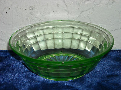 Block Optic Berry Bowl  Green