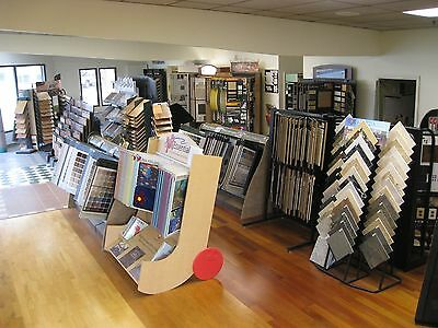 Flooring Store : Product displays, warehouse equipment and inventory
