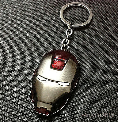 Iron Man Movie Avengers metal pendent Personalized keychain brand new CAL421