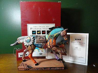 Painted Ponies INDIAN SUMMER SIGNED 183/250 COA 1E low  SIGNED NEVER DISPLAYED