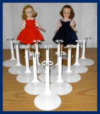 "12 Doll Stands For Madame Alexander 9"" CISSETTE  Scarlett"