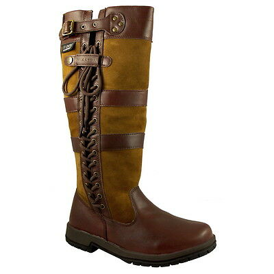 Kanyon Ash Wide Fit Waterproof Country Boot