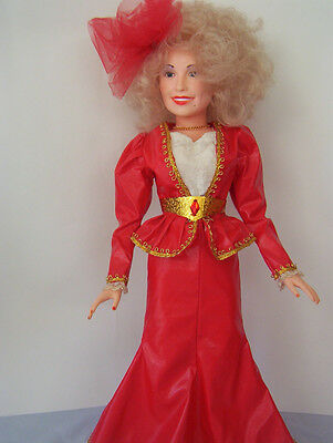 1984 DOLLY PARDON BY EEGEE DOLL CO.18 INCHES TALL