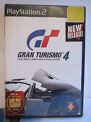 Gran Turismo 4 Sony PlayStation 2 PS2 The Real Driving Simulator