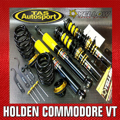 Yellow-Speed Coilovers Suspension Holden Commodore Vt Vx Vy Vz 97-06 Race Drift