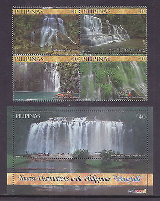 Philippines Stamps 2014 MNH Philippine Waterfalls complete set