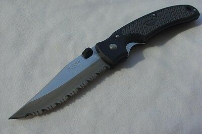 New Junglee Marshall Knife Fully Serrated Blade Seki Japan AUS-10