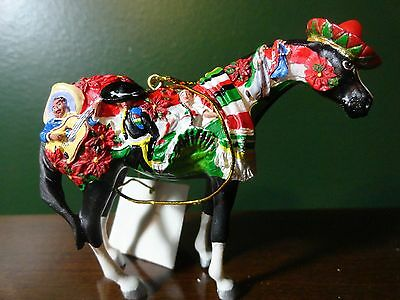 Painted Ponies Horse Bling 2007 Feliz Navidad Ornament WESTLAND RARE NIB Retired
