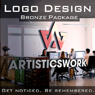 Custom Logo Design | Professional Business Logo | Unlimited Rev | Bronze Package