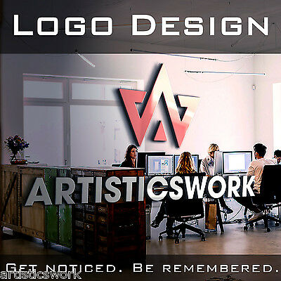 Custom Logo Design | Business Logo Design | Unlimited Revisions | Vector File