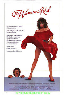 THE WOMAN IN RED MOVIE POSTER Original 27x41 Folded KELLY LE BROCK