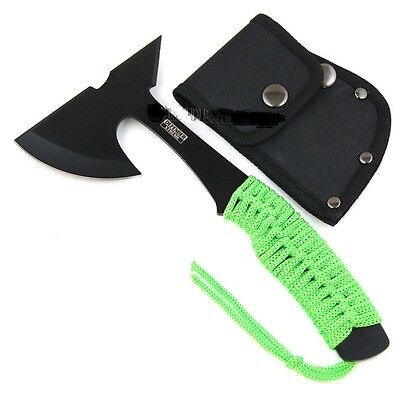 "ZOMBIE SURVIVAL CAMPING TOMAHAWK THROWING AXE 9"" BATTLE Hatchet Hunting"