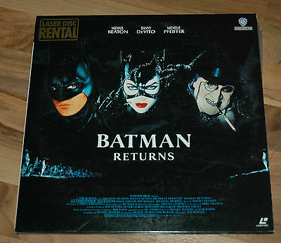Warner Laserdisc Rwl-15000/japan/batman Returns (2 Discs)