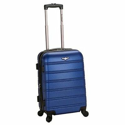 Rockland Luggage Melbourne Series Carry-On Upright - Blue