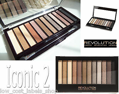 Makeup Revolution London Naked Dupe Eye shadow Palette Iconic 2