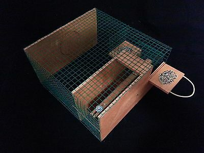 REPEATING SPARROW TRAP CAGE TO CATCH BIRD , Cage TRAP Trebuchet...MADE IN TURKEY