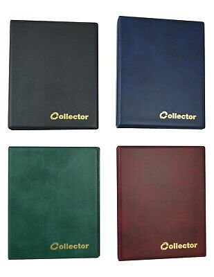 Schulz Coin Album for 126 Coins Mix Size Book Folder Pages Sleeves Best quality!