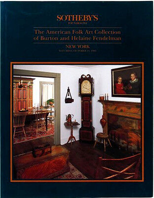 Book: Antique American Folk Art & Painted Furniture : Fendleman Collection 1993