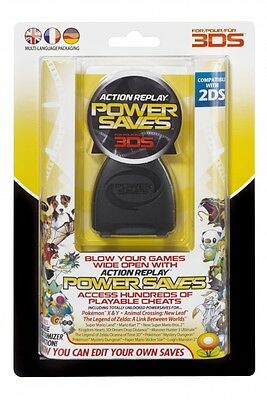Datel Action Replay Power Saves for Nintendo 3DS & 3DS XL Cheat System - New