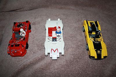 LARGE LEGO LOT OF 3 SPEED RACERS LEGOS - SHIPS FAST
