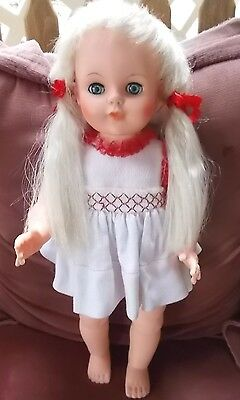 Eegee DOLL 16 INCH GOOD COND,1960,S