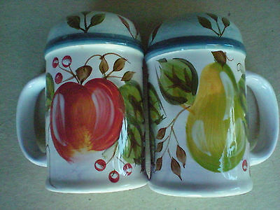 Heritage Black Forest Fruits Salt and Pepper Shakers
