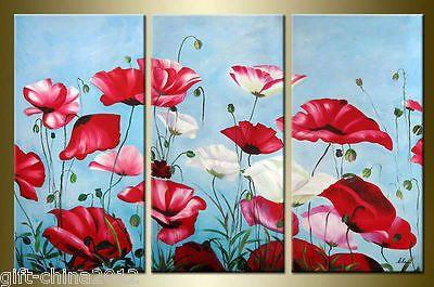 100% hand painted Floral oil paintingON CANVAS (no framed)