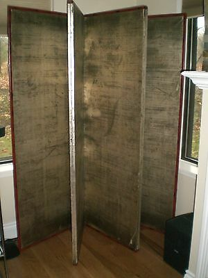Silver Leaf Screens (2) Pre-1800, Wood. Orginally purchased from Imari (SF, CA)