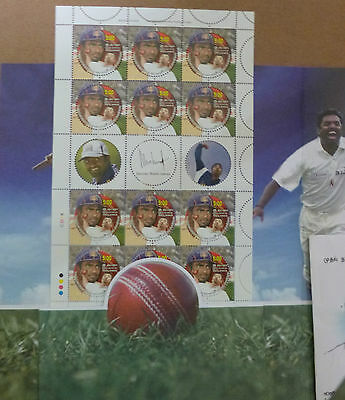 Sri Lanka 2007 Muthiah Muralidaran Test Cricket Presentation Souvenir Pack