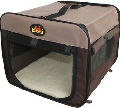 CANVAS FLAT PACK CARRIER - (S - XXL) - Portable Dog Cat Home dm PawMits Pet Bed