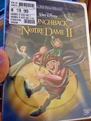 The Hunchback of Notre Dame II (DVD, 2002) Authentic/STAMPED, Legal