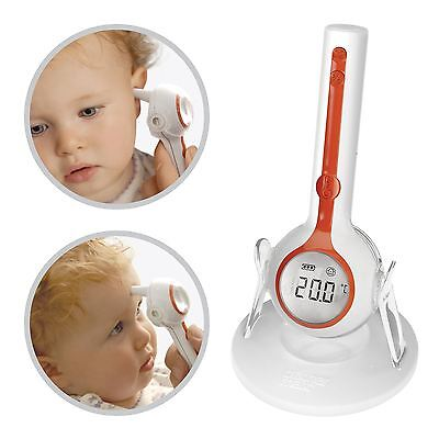 Brother Max One-Touch 3-in-1 Digital Thermometer Baby Children Ear Forehead Room