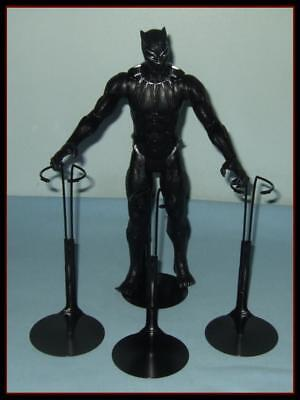 FREE U.S.SHIPPING 3 BLACK Kaiser Doll Stands For KEN  G.I. Joe Action Figures