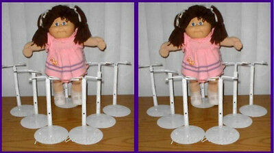 12 One Dozen KAISER #2701 Chubby Waist Doll Stands for CABBAGE PATCH KIDS