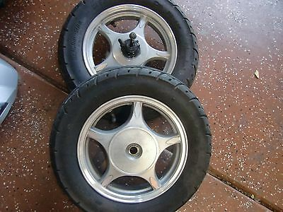 50 CC MEIDUO MD50QT-3  SCOOTER TIRES & RIMS