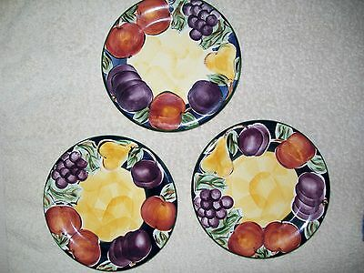 3 ~ 8 inch AMELIA COLORMATE HAND PAINTED Plates
