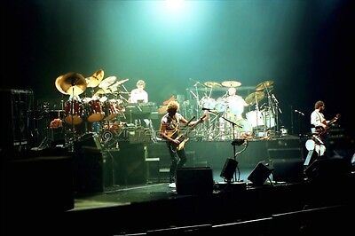 Genesis Photo Collins Rutherford 8x12 or 8x10 inch 1980s Live Concert Print L10