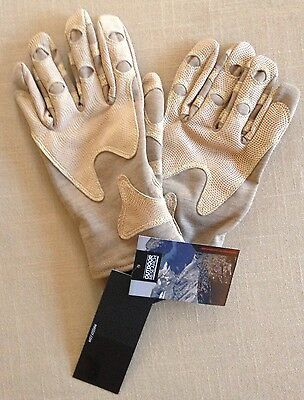 NEW! $160 Outdoor Research OR XL Nomex Tactical Overlord Short Gloves. USA Made
