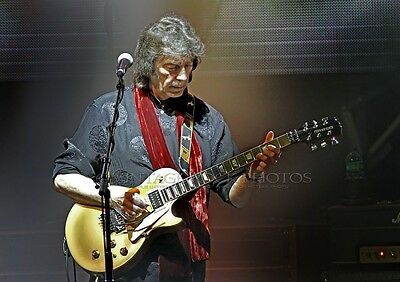 Steve Hackett Photo Genesis Revisited Tour 8x12 or 8x10 inch '13 Liverpool UK s1